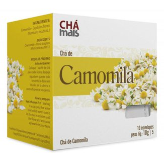 Chá de Camomila Natural Cx10 Sachês 1g