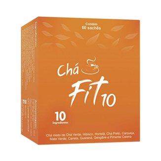 Chá Fit10 Dia 60 Sachês 1,5g