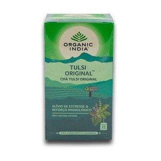 Chá Tulsi Original 25 saches  Organic India