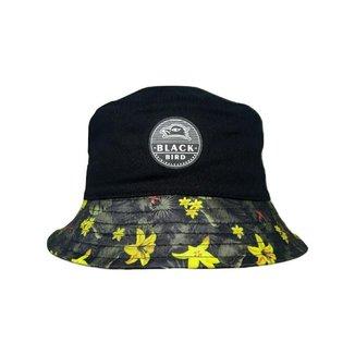 Chapéu Black Bird Bucket Hats Pram