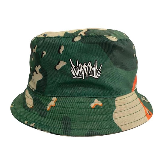 Chapéu Bucket Hat Chronic Camuflado De Ref 002 - Verde
