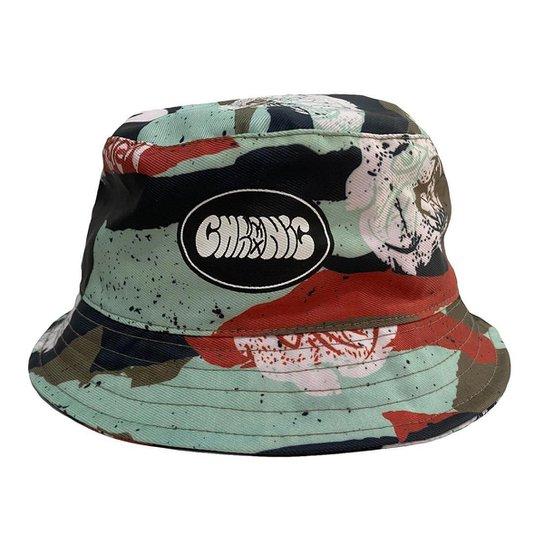 Chapéu Bucket Hat Chronic Color Camuflado - Verde