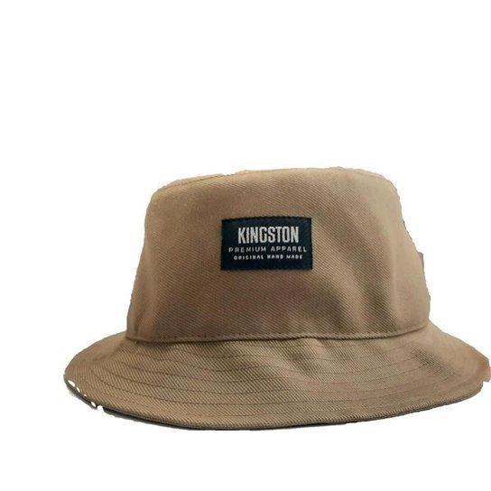 Chapéu Bucket Kingston Unissex - Marrom