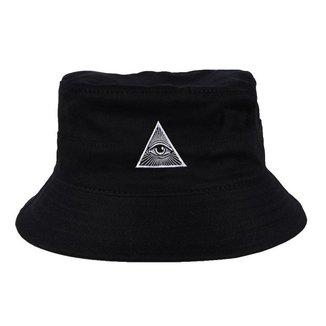 Chapéu Bucket Skull Clothing Illuminati