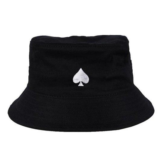 Chapéu Bucket Skull Clothing Poker - Incolor