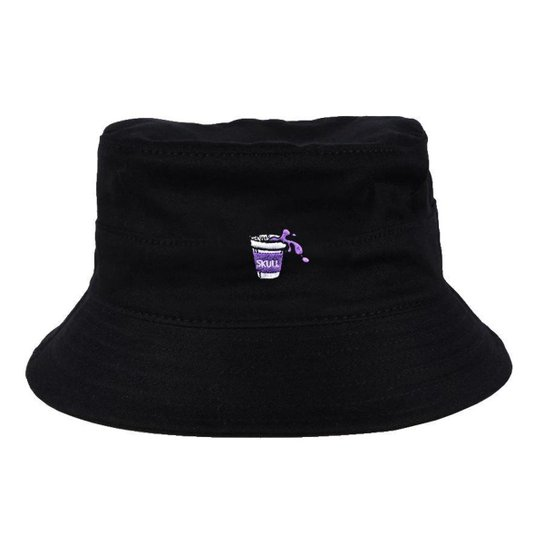 Chapéu Bucket Skull Clothing Purple Juice - Incolor