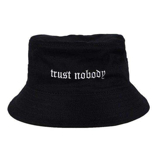 Chapéu Bucket Skull Clothing Trust Nobody - Incolor