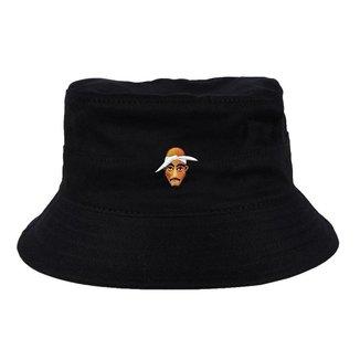 Chapéu Bucket Skull Clothing Tupac Face