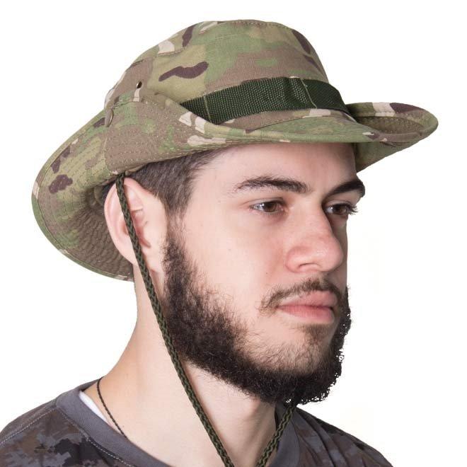 Chapéu Camuflado Multicam Boonie - Bravo - Verde - Compre Agora ... d6f5ae4226a