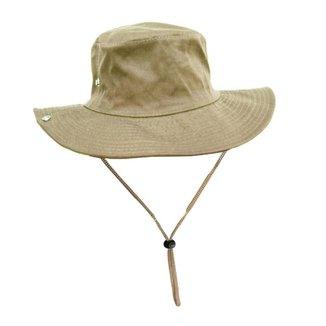 Chapéu Cor Caqui Passeio Camping Pesca Australiano 1 Unidade