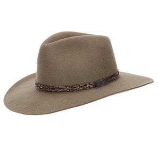 Chapéu de Feltro 3X Texas Diamond Forrado Castor