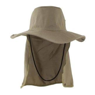 Chapéu Pescador Pesca Proteção Solar Pescoço Camping Trilha