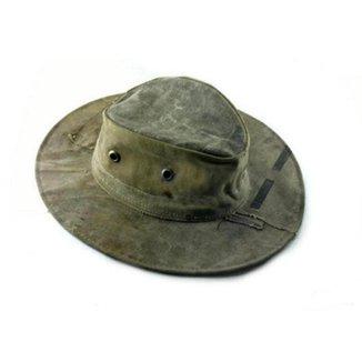 Chapéu Rústico Lona Envelhecida Camping Pesca 5 Unidades