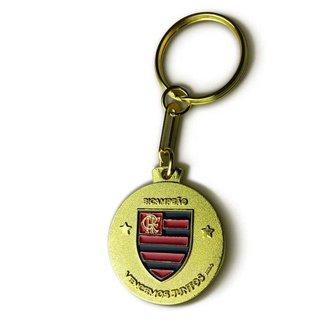 Chaveiro Flamengo Bicampeão 1981 e 2019 UN