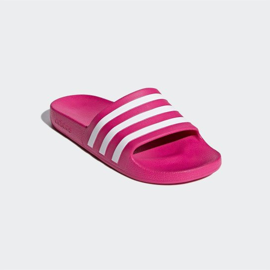 Chinelo Adidas Adilette - Pink+Branco