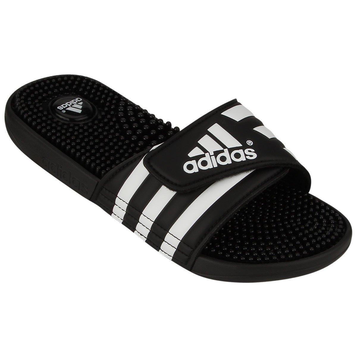 3cdfa4062a6e ... chinelos nike e adidas Chinelo Adidas Adissage - Preto e Branco ...