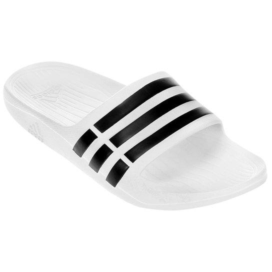 Chinelo Adidas Duramo Slide - Branco