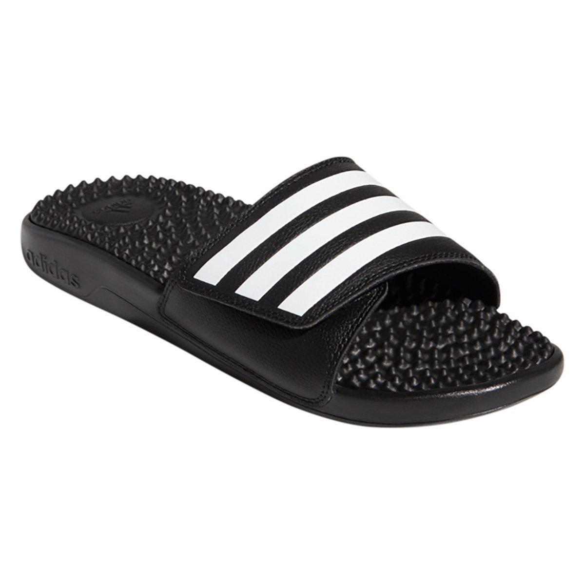 Chinelo Adidas Slide Adissage - Preto e Branco