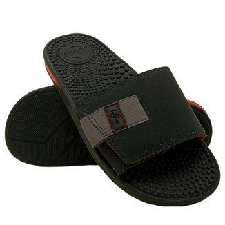 Chinelo Br Sport Slide Casual Com Bolhas Anatômica Masculino