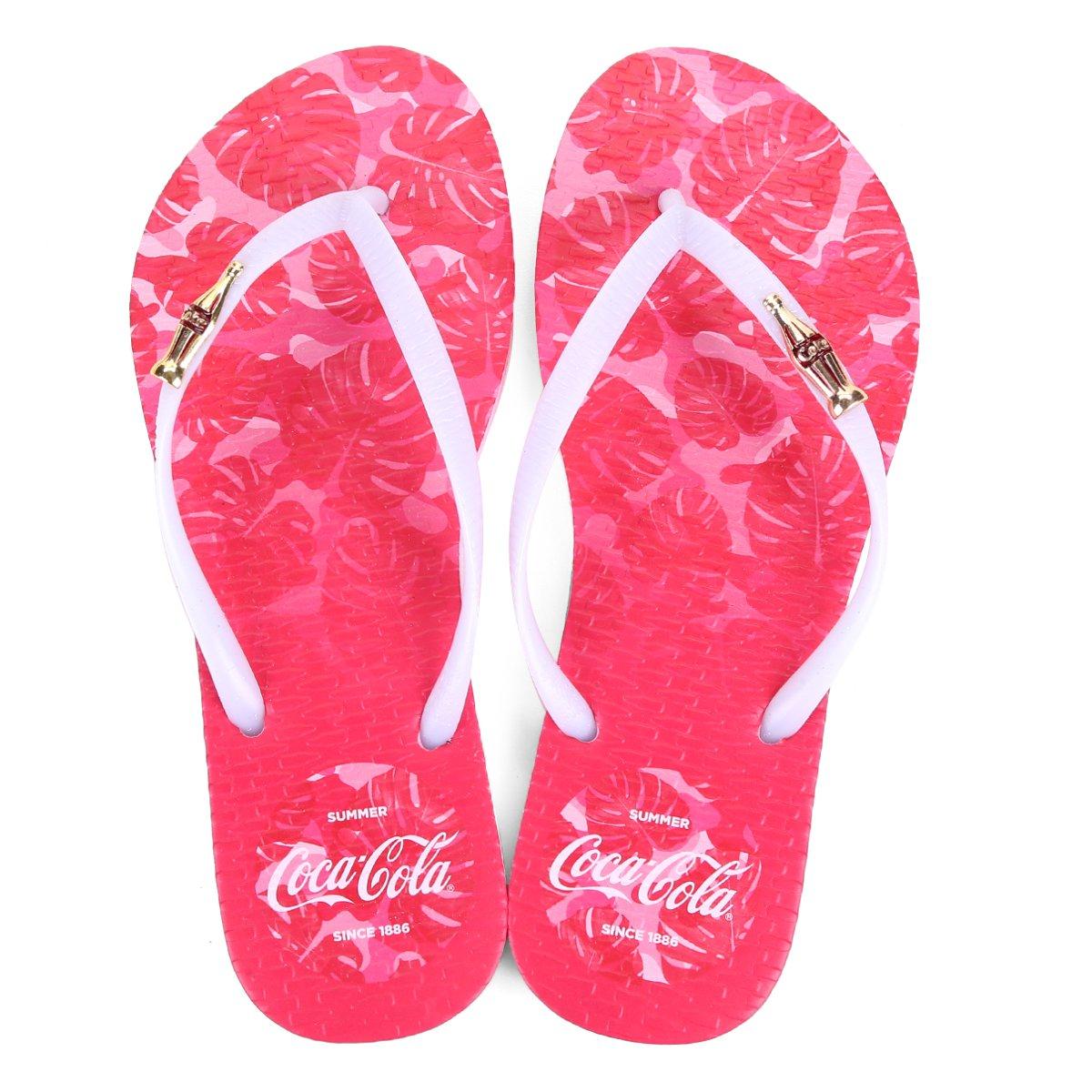 5df3f628c Chinelo Coca Cola Tropic Camo Feminino - Compre Agora