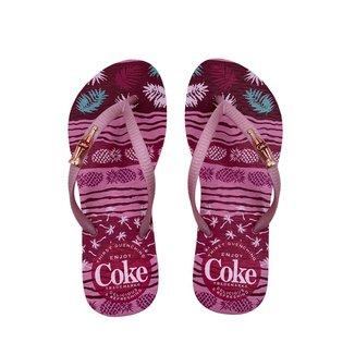 Chinelo Coca Cola Tropical
