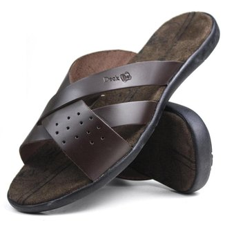 Chinelo De Couro Masculino Mr Try Shoes Casual