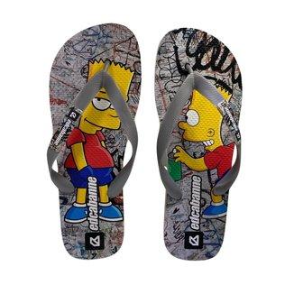 Chinelo Edcabanne Estampado Simpsons