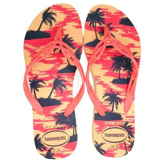 Chinelo Feminino Havaianas Flash Sweet Summer Laranja