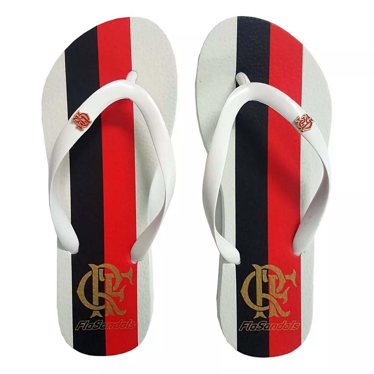 3577af638 Chinelo Flamengo Feminino Manto 2 Slim Branco - Compre Agora | Netshoes