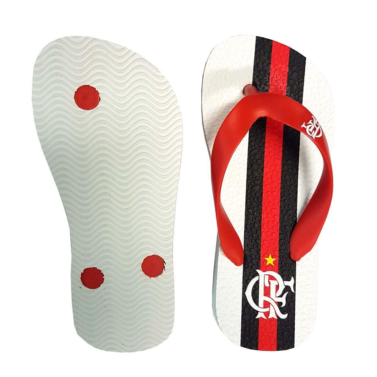 2 Chinelo Flamengo 2017 Infantil Flamengo Branco Manto Chinelo Branco 7XwxdP6