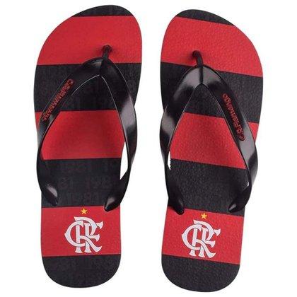 Chinelo Flamengo Manto 1 2021 Preto/Preto 33/34