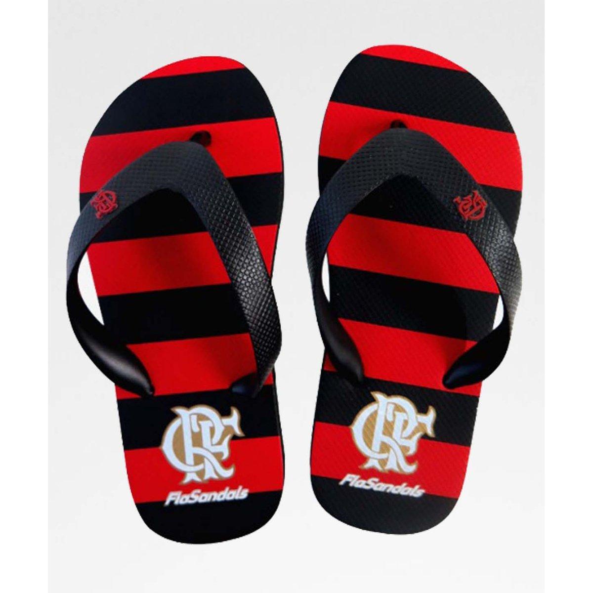 Chinelo Oficial Manto e Vermelho Preto Kids Chinelo Flamengo Flamengo qCqpz