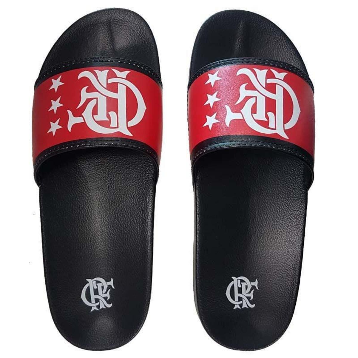 Preto Preto Chinelo Slide Flamengo Chinelo Flamengo e Manto e Flamengo Manto Slide Manto Chinelo Slide Vermelho Vermelho vxnqSCAw6n