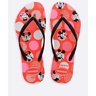 Chinelo Havaianas Feminino Slim Disney - 10048748490