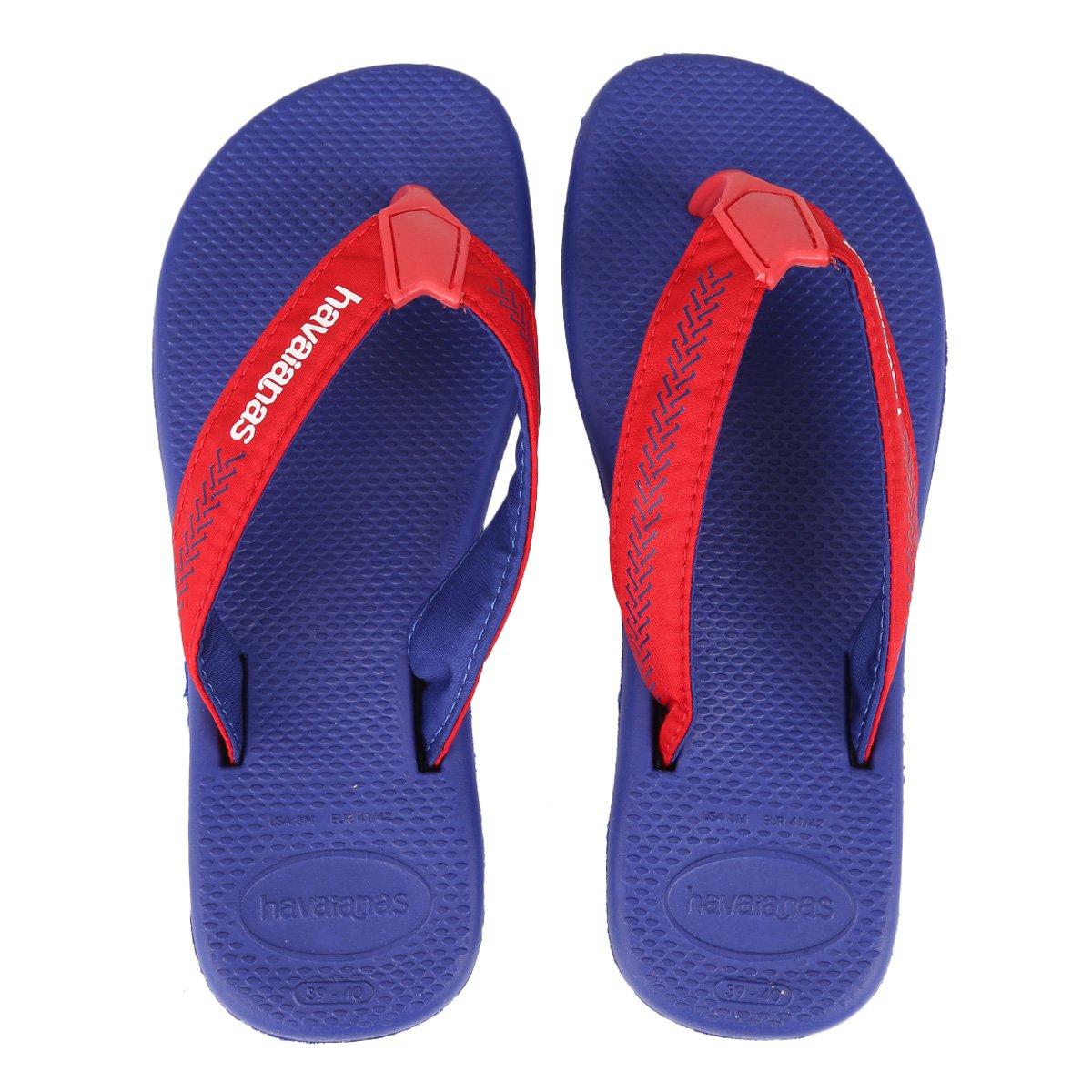 1721d84a75f0ba Chinelo Havaianas Surf Pro Masculino - Azul - Compre Agora