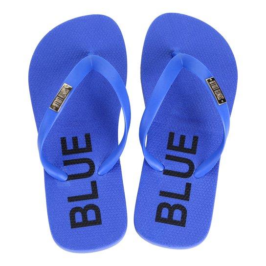 Chinelo Infantil Flip Flop Santa Lolla Feminino - Azul