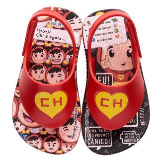 Chinelo Infantil Grendene Chaves E Chapolin Cute Fun Baby Masculino