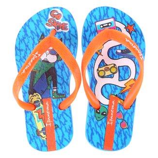 Chinelo Infantil Grendene Kids Ipanema Go Skate