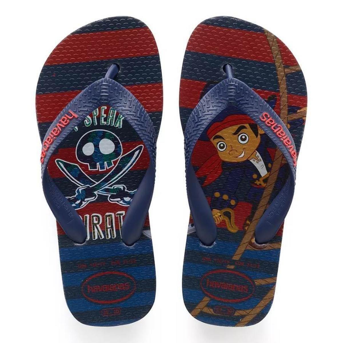 2e83f4fd895f8 Chinelo Infantil Havaianas Jake E Os Piratas - Compre Agora