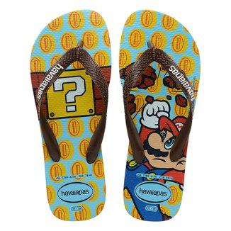 Chinelo Infantil Havaianas Mario Bros