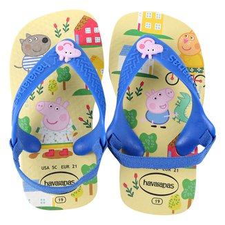 Chinelo Infantil Havaianas N Baby Peppa Pig Feminino