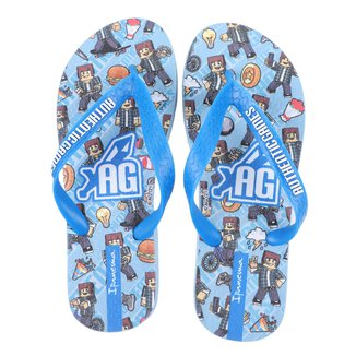 Chinelo Infantil Ipanema Authentic Games Skin Masculino