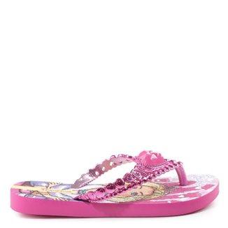 Chinelo Infantil Ipanema Barbie Rosa 33