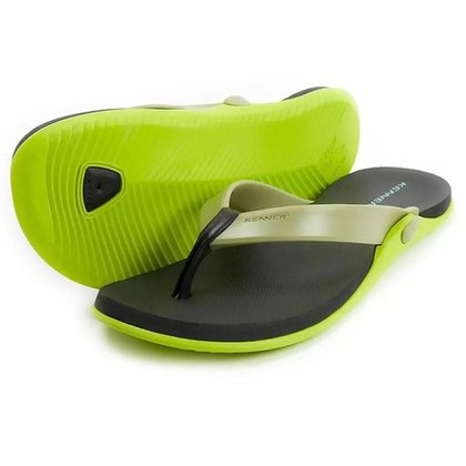Chinelo Kenner Masculino Groove Holt Neon