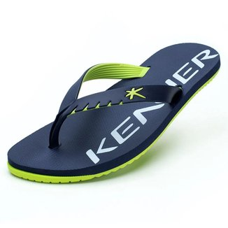 Chinelo Kenner Masculino Red Mixed Neon