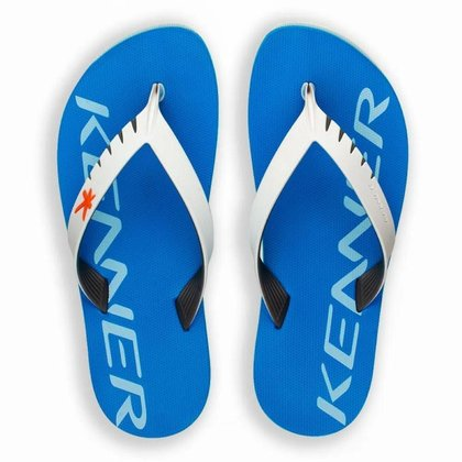 Chinelo Kenner Red Colors Masculino - Azul+Branco - 42