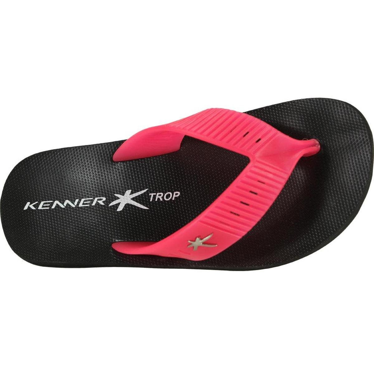 Chinelo Preto e Kmy Trop Kenner Kenner Trop Chinelo Pink 4wP5Yq