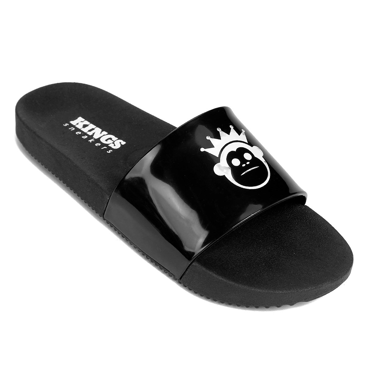 Feminino Chinelo Basic Kings Kings Preto Slide Chinelo Ink wqxUSC4aq