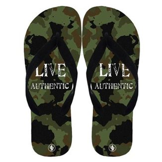 Chinelo Live Militar Masculino