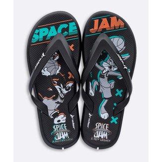 Chinelo Masculino Estampa Space Jam Rider - 10048176026